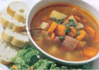 Reţetă culinară: Ciorbă de legume